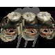 Kit Pistons Platinum Sea-Doo 130 / 155hp (STD 99.96mm) par WSM-USA.