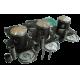 WSM USA . Kit Plunger Platinum, Kawasaki, 1100cc ( + 0.50mm )