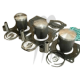 SBT-USA. Kit Pistons Premium Kawasaki 900cc (Cote + 1mm)