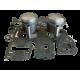 Kit pistons platinum Kawasaki 800 SXR (Cote +0.50mm)