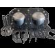 Kit pistons premium Kawasaki SS /SX /SSXI 1992 1993 axe 20mm (Standard 80mm)