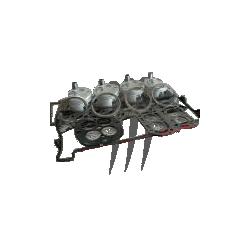 wsm Kit Pistons Platinum Yamaha 1052cc VX 110 (standard 75.90mm)