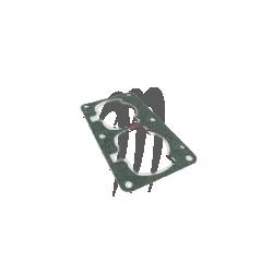 Base Gaskets Fiber Aluminium Métal Core, 701cc ( 1.32mm)