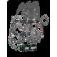 Engine gasket kit, 800cc