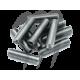 Pack de 10 goujons inox M8x30