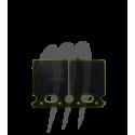 Kit clapets carbone Kawasaki 750 SX /SXi /800 SXR