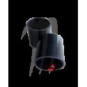 Durite silicone échappement (noire) SXR-1100cc KOMMANDOR