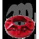 EXHAUST BILLET , 800SXR (rouge)