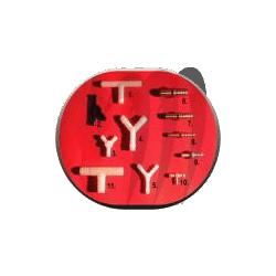 Connecteur laiton raccord tuyau N°8 (1/4-1/4)