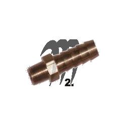 Raccord laiton durite 3/8
