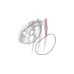 Joint O-ring couvercle de volant Kawasaki X2/ SX/ JetMate/ TS/ SS/ SC/ SSXI/ ST/ SXI/ ZXI/ XI/ XIR/ STS/ Ultra