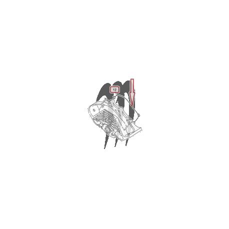 Carter gasket Ignition, 1200R . 1300R