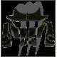 PUMP PLUG SEAL KIT , FX-SHO ( pour écope RIVA )