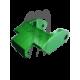 Hood Latch- Billet , green