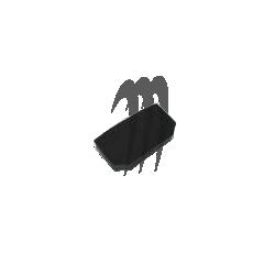 Protection bras / capot Super jet (noir)