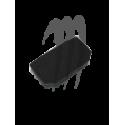 Pole Shock Pads,  SuperJet , black