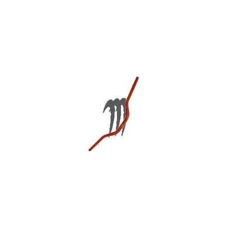 HANDLEBAR BOOSTER DIA 28.6mm   ( XXL orange )
