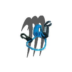 ATLANTIS. Coupe Circuit Yamaha ( bleu neon )