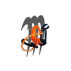 ATLANTIS. Coupe Circuit Yamaha (orange néon)