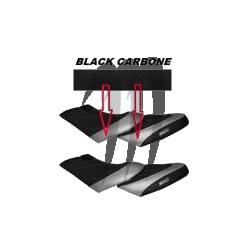 HYDRO-TURF. Housse de Selle GTX-4tec/ Di/ 185hp/ RXT-215/ RXT-X 255 noir / noir carbone
