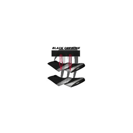 Seat cover, GTX-4tec / Di / 185hp / RXT-215 / RXT-X 255 (black/ black carbon)