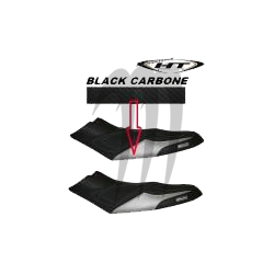 Seat cover, RXP-155 / RXP-215 / RXP-X 255 (black /black carbon)