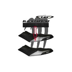 HYDRO-TURF. Housse de Selle RXP-155/ RXP-215/ RXP-X 255 noir /noir carbone