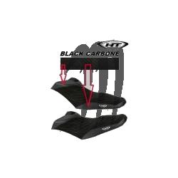 HYDRO-TURF. Housse de Selle RXP-X 260 RS noir / noir carbone