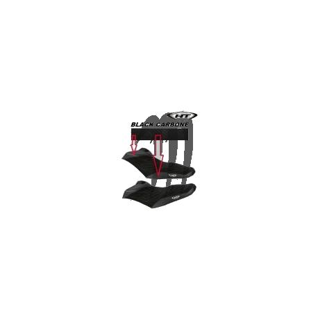 Seat cover,  RXP-X 260 RS,  (black / black carbon)
