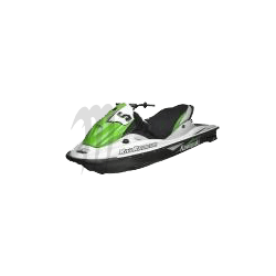 RIVA. Housse de selle STX12-F/ STX15-F noir / vert / blanc