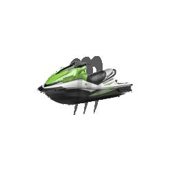 HYDRO-TURF. Housse de selle ULTRA-250X/ ULTRA-260X noir carbone / blanc carbone
