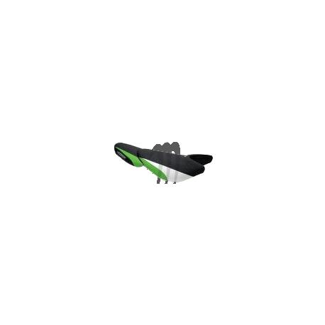 Seat cover, KAWASAKI, ULTRA-250X / ULTRA-260X  black / green / white