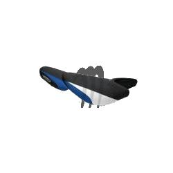 RIVA. Housse de selle ULTRA-250X/ ULTRA-260X noir / bleu / blanc