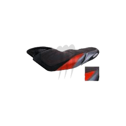 SEAT COVER Racing , YAMAHA, FX-SHO,  black / red / silver