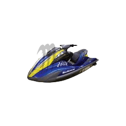 RIVA. Housse de selle Racing FX-SHO noir / bleu / alu