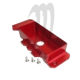 Billet Box Batterie Freestyle, Center, Aluminium , Red ,Super-Jet (96-2012)