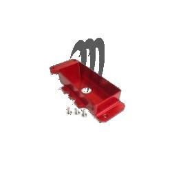 Box batterie Freestyle (rouge) en aluminium taillé dans la masse Yamaha Super-Jet