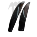 Kit Tubbie Destroyer Sponsons ,800SXR ( 2003-2010 ), black