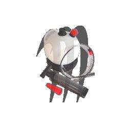 HT-MOTO . Extracteur d'huile - Pompe a vidange par aspiration (6 litres)