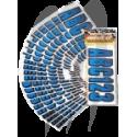 registration kit,  CARBON  BLUE ( 146 pieces )