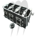 SBT USA. Standard Exchange Program Cylinder Head, Sea-Doo 1500cc (on order)