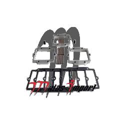 ADA Angled Reed Spacers Complet Kawasaki 900cc - 1100cc Kommandor
