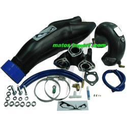 FACTORY-PIPE. Echappement Wet Pipe 800 SX-R/ 800 X2