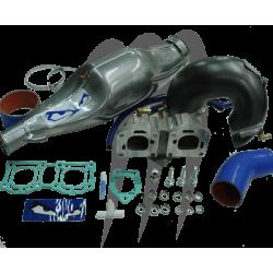 FACTORY-PIPE. Echappement Wet-pipe (LTD) Super Jet 701(Kit Complet)