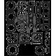 Pochette joint haut moteur (PV) 66V Yamaha 1200R