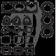 Engine gasket kit, 900cc