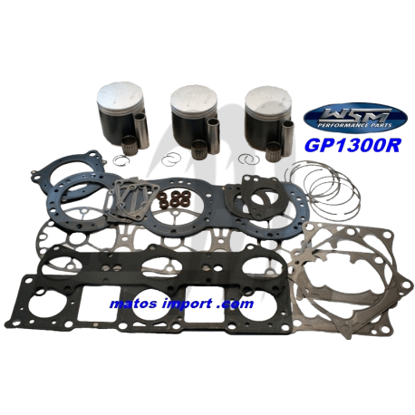 Kit pistons platinum Yamaha GP-R 1300 cc (Cote +0.50mm)