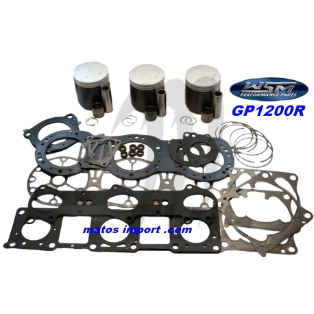 Kit pistons platinum Yamaha GP-R 1200 / XL / XR (Cote +0.50mm)