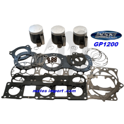 Kit pistons platinum Yamaha GP 1200 / XL 1200 (Cote +0.50mm)