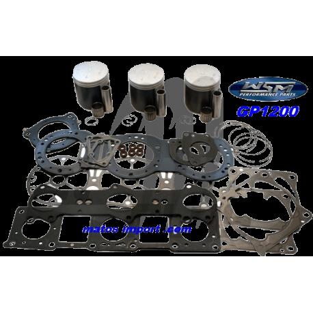 WSM-USA. Kit Pistons Platinum Yamaha 1200cc 65U (Cote +0.50mm)